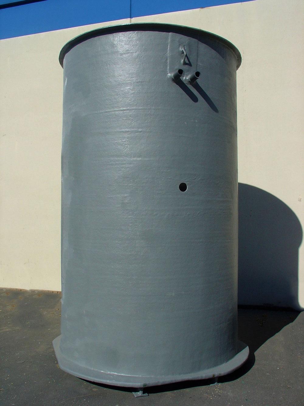 Below Ground Fiberglass Tank
