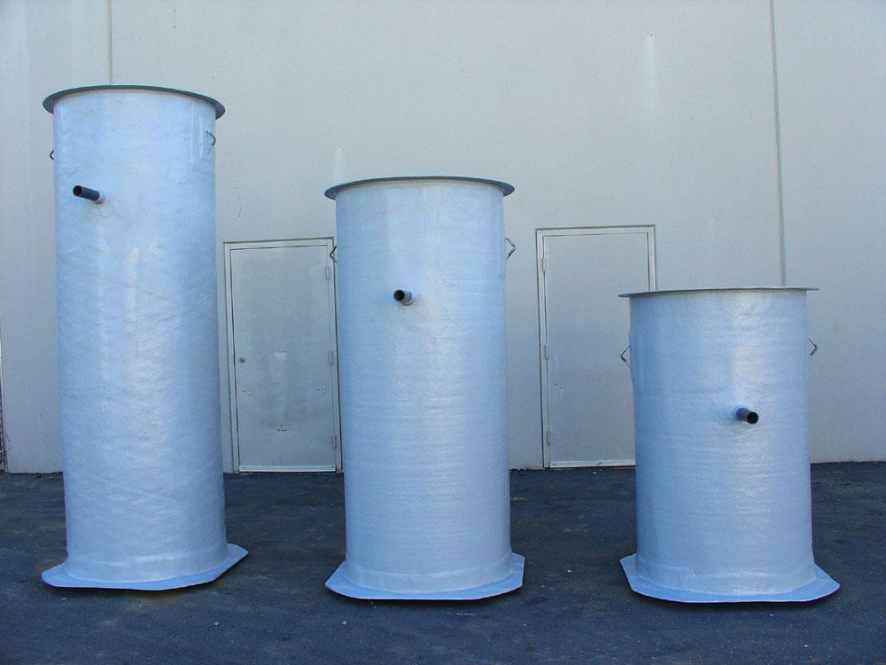 Fiberglass Storage Tanks